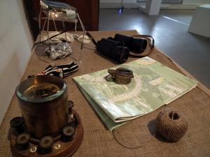 Jo David: Travelling Light, installation detail